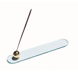 Zen Minimalist Glass Incense Holder