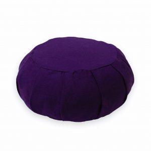 Round Meditation Zafu – Violet Buckwheat