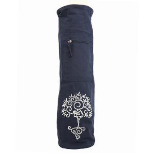 Yoga Mat Bag Navy – Tree Of Life