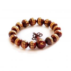 Buddhist Rosewood Prayer Bracelet