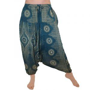 Indian Gypsy Harem Pants – Sea Green Peacock