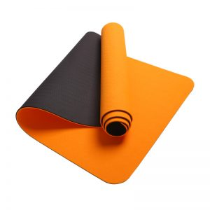 Asoka Eco Yoga Mat – Citrus Orange