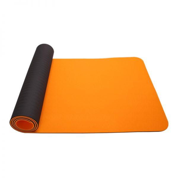 asoka eco yoga mat - citrus orange