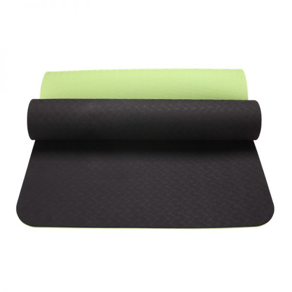 asoka eco yoga mat – lime green
