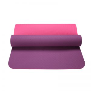 Asoka Eco Yoga Mat – Violet And Pink