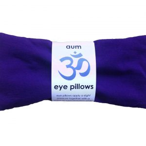 Aum Lavender Eye Pillow – Violet