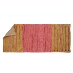 Ayurvedic Yoga Mat Turmeric/Pink