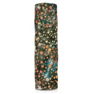 Batik Yoga Mat Bag – Forest Snow