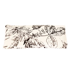 Asoka Lavender Eye Pillow – Black Flower