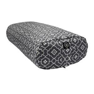 Yoga Bolster – Geo Grey