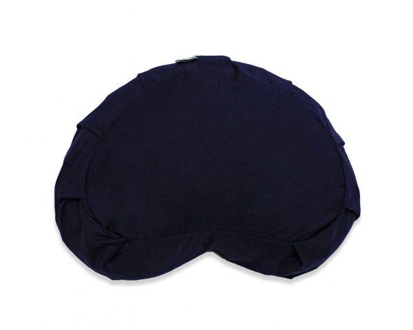 crescent meditation zafu – navy