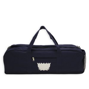Navy Lotus Yoga Kit Bag