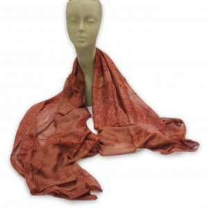 Meditation Shawl Burgundy