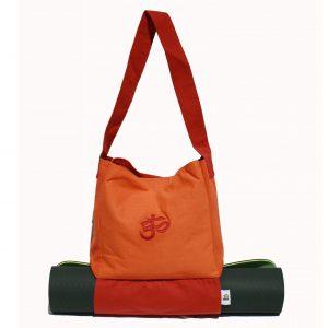Om Yoga Bag With Mat Holder