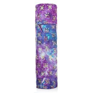 Batik Yoga Mat Bag – Indigo Daisy