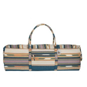 Sand And Sea Stripes Yoga Kit Bag