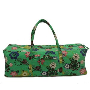 Spring Flower Yoga Kit Bag