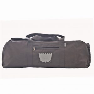 Grey Lotus Yoga Kit Bag