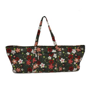 Winter Flower Power Yoga Kit Bag