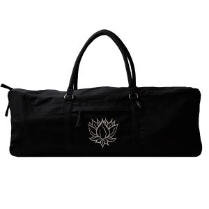 Black Lotus Yoga Kit Bag
