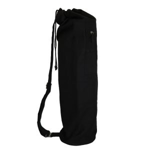 Yoga Mat Black Black Side Web