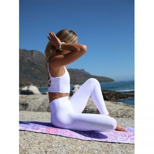 Maxi Flow Snow – Full Length Yoga Leggings