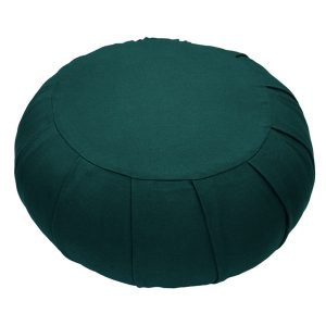 Round Meditation Zafu – Dark Green