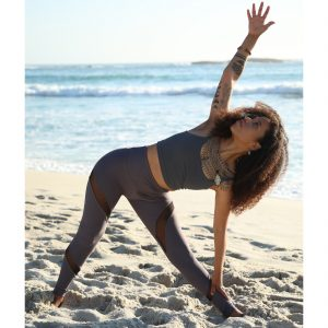 Dapple Mesh Dusk – Full Length Yoga Leggings