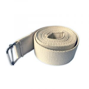 Cotton Yoga Strap – Natural